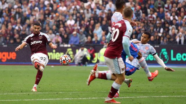 West Ham : Saïd Benrahma buteur face à Manchester United (vidéo)