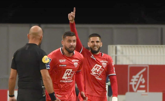 Dijon : Benzia signe un doublé face à Bastia (vidéo)