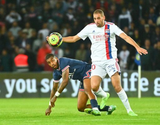 Islam Slimani : «Les deux derniers matchs avec les Verts m'ont fait du bien»