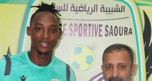 JS Saoura : L'attaquant tanzanien Adam Paul Salamba signe pour trois ans