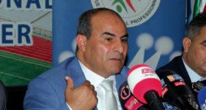 Abdelkrim Medouar, président de la LFP : «Rien d'officiel pour le retour du public dans les stades»